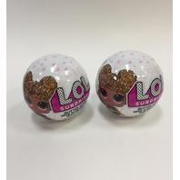 L.O.L. Surprise! Glitter Series Doll Case Set of 2