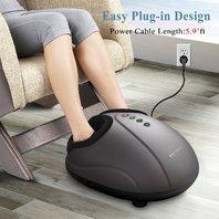 Marnur Foot Massager Shiatsu Deep Kneading Massage With Heat Rolling And Air