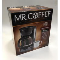 Mr. Coffee VBX23 12-Cup Programmable Coffeemaker, Black