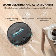 Robot Vacuum Cleaner By Koios I3 80% Higher Suction Robotic Vacuum Cleaner