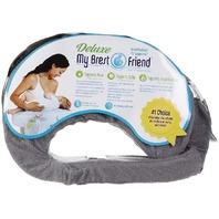 My Brest Friend Deluxe Nursing Pillow - Evening Gray