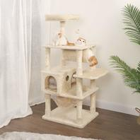 """Wlive 59"""" Cat Tree Condo With Sisal Scratching Posts"""