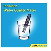 ZeroWater ZBD-040-1 2.5 Gallon Beverage Water Dispenser, Clear/Chrome