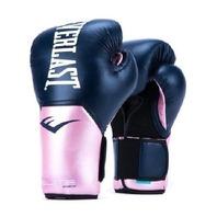 Everlast Elite Pro Style Training Gloves 12oz Blue/Pink