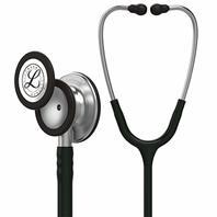 3m Littmann Classic III Stethoscope, Stainless-Steel-Finish Chestpiece, Black