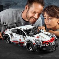 Lego Technic Porsche 911 RSR 42096 Building Kit (1580 Piece)