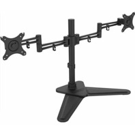 "iCAN dual free stand monitor mount 10""-30"""