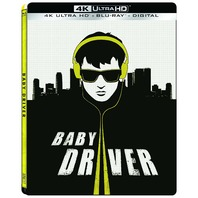 Baby Driver (4K Ultra Hd   Blu-Ray   Digital) (Steelbook)