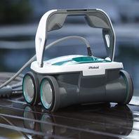 iRobot - Mirra 530 Pool Cleaning Robot - White/green/gray