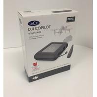 """LaCie DJI Copilot STGU2000400 2 TB 2.5"""" Internal Hard Drive - SEALED"""