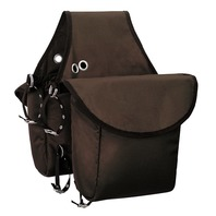 Weaver 15-0170-BR Insulated Nylon Saddle Bag Brown