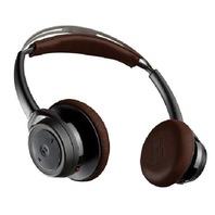 Plantronics Backbeat Sense SE - Black/tan Headphones - No Bluetooth