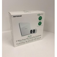 Arlo Wire-Free Indoor/Outdoor Security System with two 720p Cameras - White