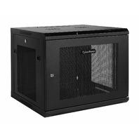 CyberPower Carbon CR9U61001 9U Wall Mount Rack Enclosure