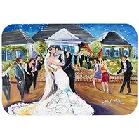 Our Wedding Day Kitchen or Bath Mat 24x36 JMK1127JCMT