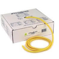 TheraBand Resistance Tubing, PART BOX Yellow, Thin, Beginner Level 2