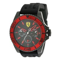 Scuderia Ferrari Men's XX Kers Quartz Stainless Steel And Silicone Casual Watch