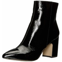 Sam Edelman Women's Hilty 2 Fashion Boot, Black Patent, 7.5 M US