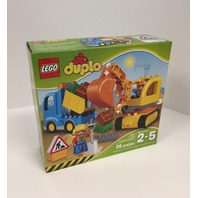 Lego Duplo Town Truck & Tracked Excavator 10812, For Toddlers