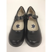 Dadawen Girl's Strap School Uniform Dress Shoe Black Us Size 12