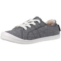 Size 6 Roxy Women's Bayshore Slip On Shoe Sneaker, Gray
