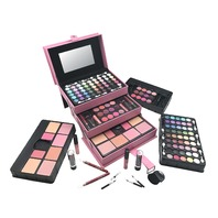 Br All In One Makeup Kit Eyeshadow, Blushes, Powder, Lipstick & More Lightpink