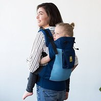 Lillebaby 3 In 1 Carryon Toddler Carrier - Airflow- Blue Aqua