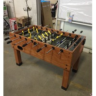"Foosball Table 46.5"" L x 26.5""  W x 34"" H"