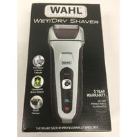 Wahl Speed Shave Wet/Dry Waterproof Facial Hair Shaver