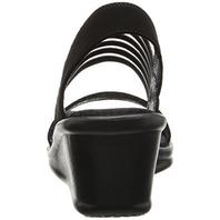 Skechers Cali Women's Rumblers-Sci-Fi Wedge Sandal, Black, 9 M Us