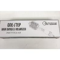 Aibesser One-Step Hair Dryer & Volumizer Hot Air Brush (Black Gold)
