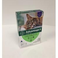 Advantage Ii Large Cat 6 Pack Bayer Cat Genuine