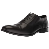 Cole Haan Men's Williams Cap Toe Oxford, Black, 9.5 M Us