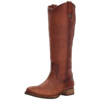 Women's Frye Melissa Knee High Cognac Boot, Size 6 M - Brown