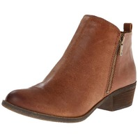Lucky Brand Women's Basel Leather Booties Women's Shoes 5.5