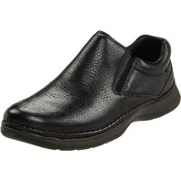 Hush Puppies Men's Lunar II Slip-On,Black,11 M US