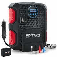 Fortem Portable Digital Electric Car Auto Air Compressor Tire Inflator Pump