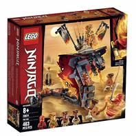 Lego Ninjago Fire Fang Snake Action Toy Building Set (463 Pieces)