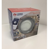 Lithonia Lighting 6-Inch Dimmable LED Module with Integrated Wireless Speaker