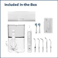 Waterpik Complete Care 9.0 Sonic Electric Toothbrush   Water Flosser, White