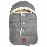 JJ Cole - Urban Bundleme, Canopy Style Bunting Bag To Protect Baby From Cold