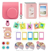 Fujifilm Instax Mini 9 Accessory Bundle - 14 In 1 Kit With Close Up And Color