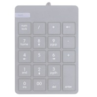 Onn Full Size USB Numeric Keypad With Responsive 19 Key Design