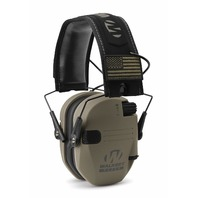 Walker's Razor Patriot Electronic Earmuffs (NRR 23DB) Flat Dark Earth