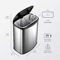 Nine Stars 2.1 GL Touchless Trash Can