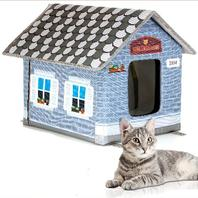 Petyella  Cat Houses For Outdoor Cats In Winter - Non Heated