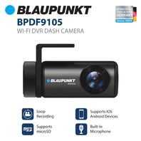 Blaupunkt Wi-Fi DVR Dash Camera for iOS and Android (BPDF9105)