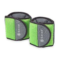 Gaiam Ankle Weights Strength Training Weight 2.5lbs each