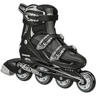 Roller Derby V-Tech 500 Men's Inline Skates adult shoe sizes 6 to 9- Black