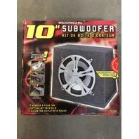 "Scosche 10"" Subwoofer Enclosure Kit"
